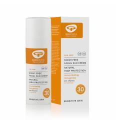 Солнцезащитный крем для лица SPF30 без запаха от Green People