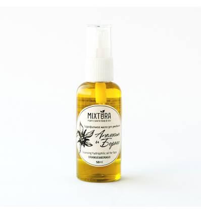 Апельсин и бораго. Гидрофильное масло для сухой кожи, Mixtura