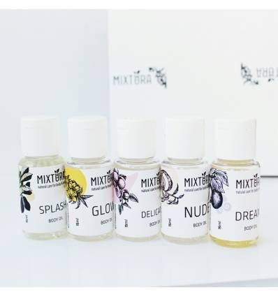 Набор масел для тела: DREAM, SPLASH, DELICATE, GLOW, NUDE, Mixtura
