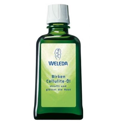 Березовое масло от целлюлита, Weleda