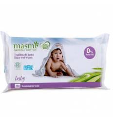 Органические детские влажные салфетки, 60шт, Masmi