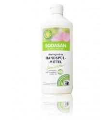 SODASAN органическое жидкое средство для мытья посуды для чувствительной кожи 0,5 л