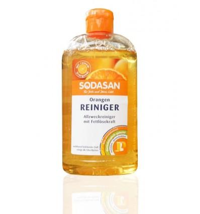 SODASAN органическое универсальное средство-концентрат Orange для удаления жирных загрязнений 0,5 л