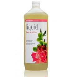 SODASAN жидкое мыло Rose-Olive тонизирующее