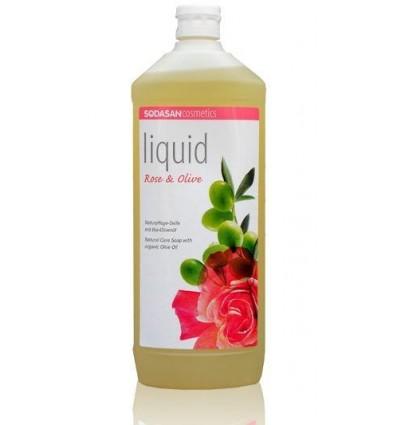 SODASAN органическое жидкое мыло Rose-Olive тонизирующее 1 л