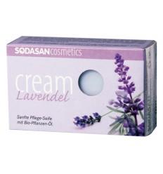SODASAN органическое мыло-крем Lavender