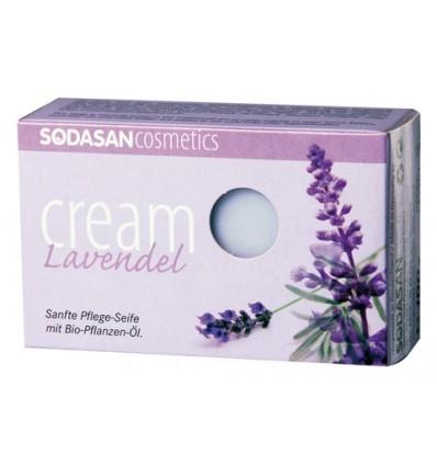 SODASAN органическое мыло-крем Lavender 100 г