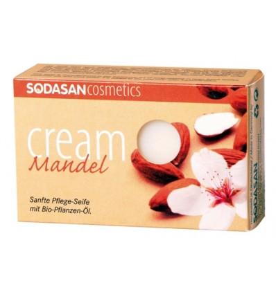 SODASAN органическое мыло-крем Almond 100 г