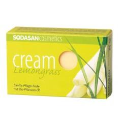 SODASAN органическое мыло-крем Lemongrass