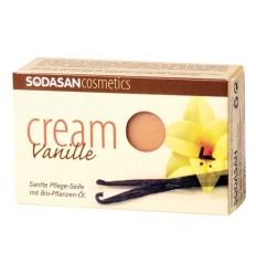 SODASAN органическое мыло-крем Vanilla