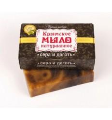 """Украинское мыло """"Сера и деготь"""", Мануфактура """"Дом Природы"""""""