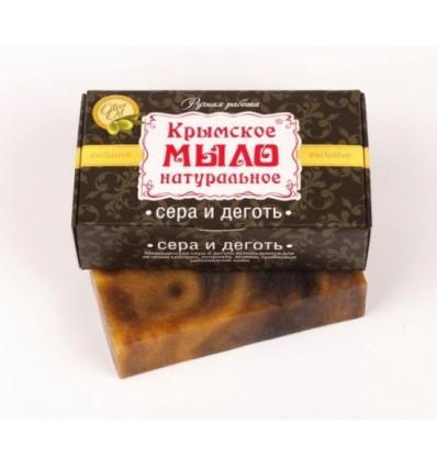 """Крымское мыло """"Сера и деготь"""""""